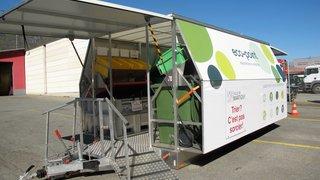 Martigny disposera d'un écopoint mobile inédit pour le tri des déchets