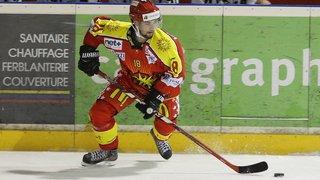 Sierre-Sion: Jérémy Gailland ne sera pas sur la glace dimanche