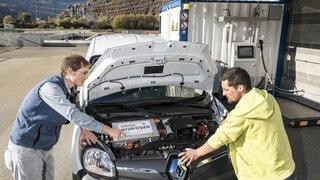 Une voiture à hydrogène testée en ville de Martigny