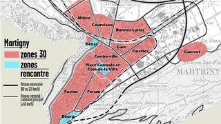 Les automobilistes doivent prendre de nouvelles habitudes au centre-ville de Martigny