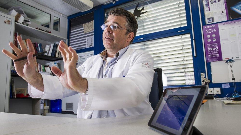 Pour le scientifique Nicolas Donzé, la liberalisation des drogues comporte trop de risques.