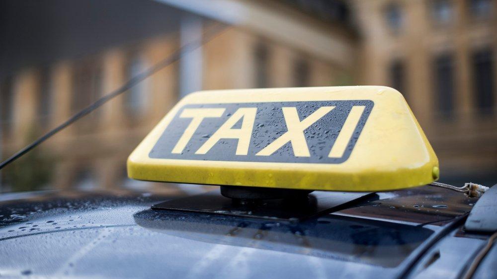 Les taxis ont été préférés au bus pour cette nouvelle édition du Caprices.