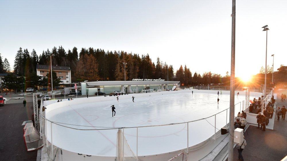 Inaugurée l'année dernière, la patinoire d'Ycoor vivra une grande première ce week-end.