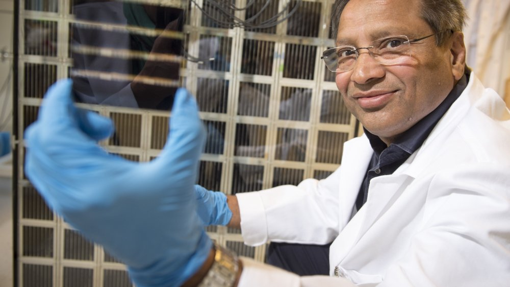 Mohammad Nazeeruddin a mis au point une cellule photovoltaïque unique. Son potentiel économique est considérable.