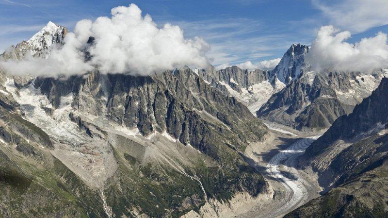 A Chamonix, les touristes viennent voir les glaciers mourir