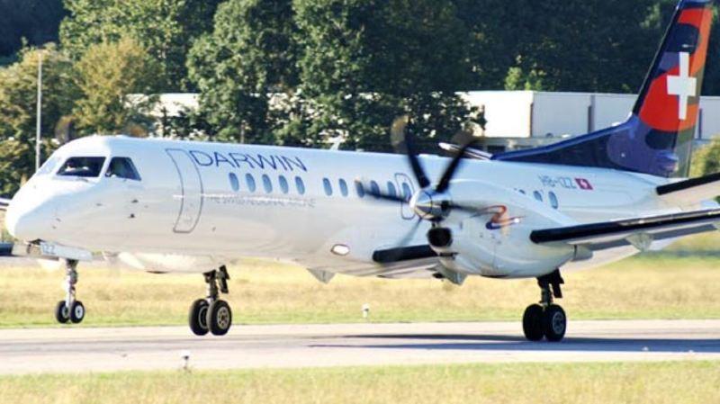 Darwin Airline précise travailler à une solution pour reprendre aussi tôt que possible ses opérations. (illustration)
