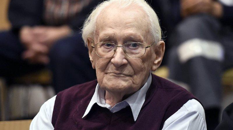 Allemagne: un ancien SS et comptable d'Auschwitz de 96 ans devra être incarcéré pour purger sa peine