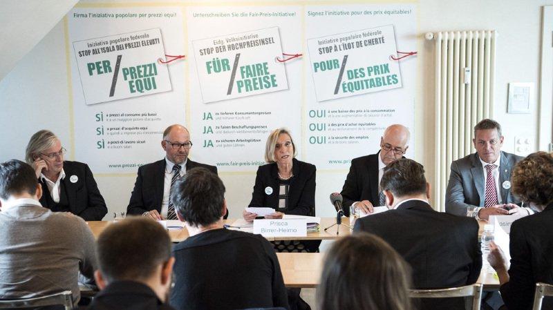 """Le peuple suisse votera sur l'initiative """"Stop à l'îlot de cherté - pour des prix équitables"""""""