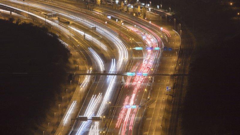 Argovie:  une automobiliste à contresens sur l'A3
