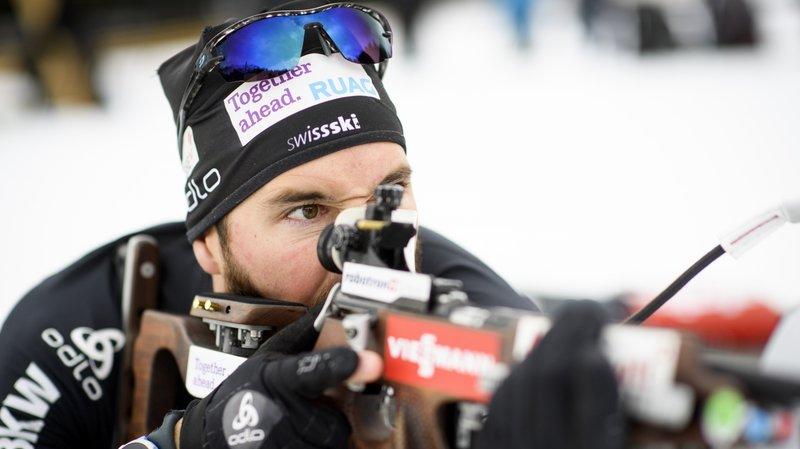 Biathlon: le Valaisan Benjamin Weger sélectionné pour les Jeux olympiques