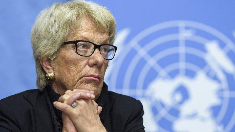 Témoignant lors du procès en mars 1999, Mme Del Ponte avait dit avoir reçu des menaces avant sa visite en Italie.
