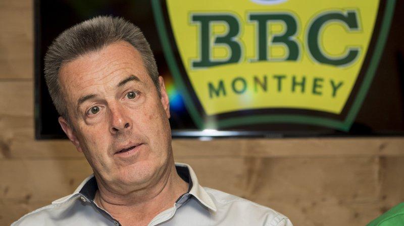 Christophe Grau va quitter la présidence du BBC Monthey
