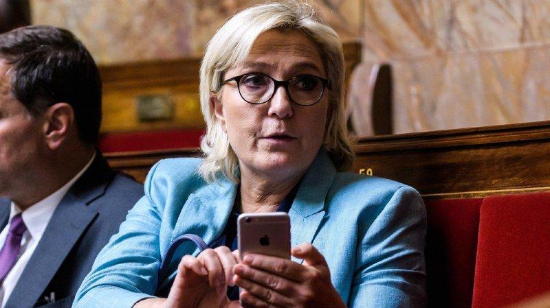France: l'immunité parlementaire de Marine Le Pen levée