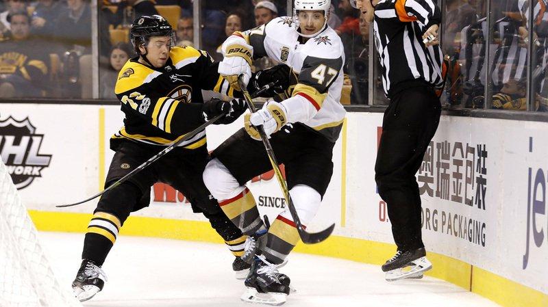 Hockey - NHL: le Suisse Sbisa marque son premier but avec Las Vegas