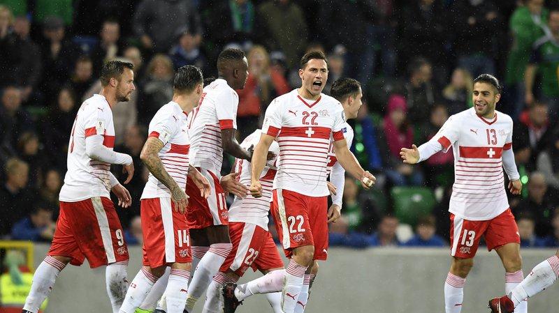 Mondial 2018 : la Suisse gagne à Belfast et fait un grand pas vers la Russie