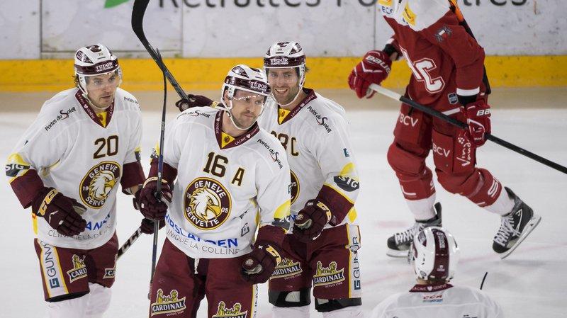 Hockey - National League: Le derby lémanique pour Genève, Bienne et Fribourg dominés
