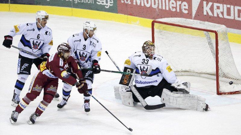 Hockey: Fribourg Gottéron s'impose 4-1 face à Genève-Servette en  National League