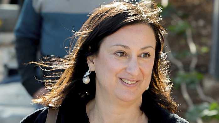 La journaliste d'investigation Daphne Caruana Galizia a été assassinée le 16 octobre dernier.