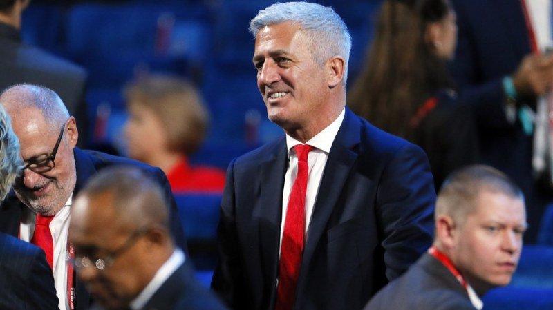"""Mondial 2018: """"Nous sommes capables d'obtenir un résultat"""", assure Vladimir Petkovic"""