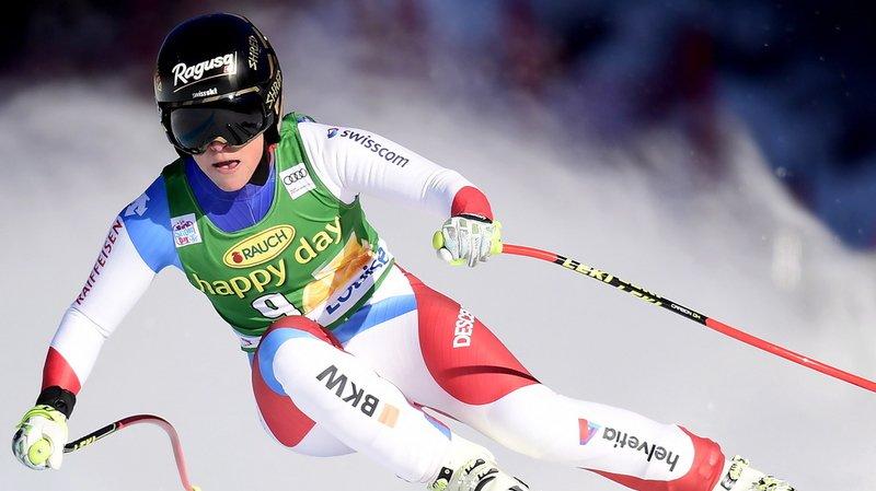 Ski alpin: Lara Gut termine deuxième au Super-G de Lake Louise