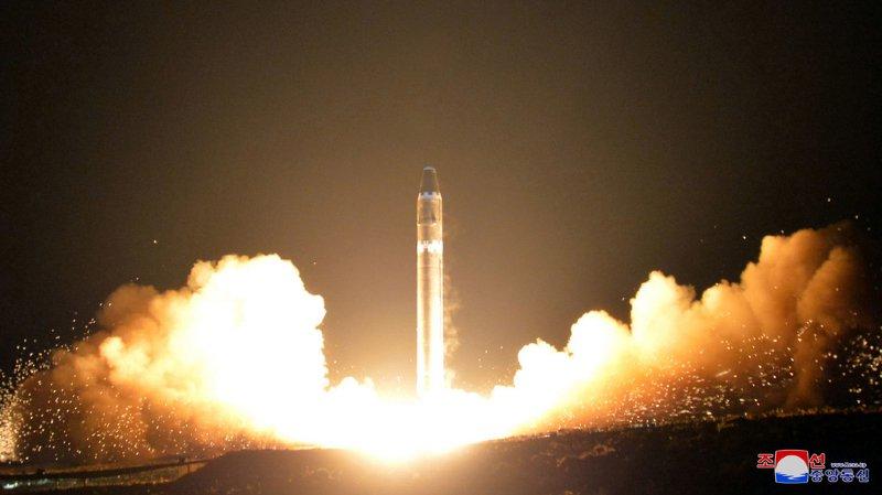 """""""La seule question qui reste à présent est de savoir quand cette guerre éclatera"""", a ajouté un porte-parole du ministère dans une déclaration reprise par l'agence officielle de presse nord-coréenne KCNA."""