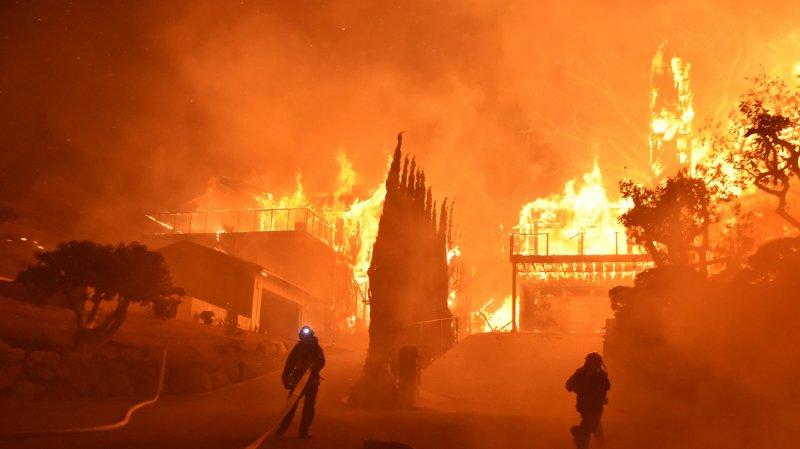 Le gigantesque incendie au nord de la Californie touche déjà plus de 18'200 hectares.