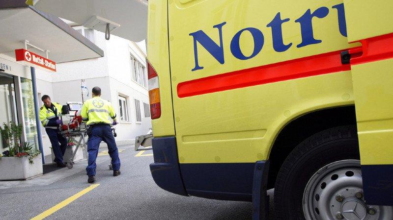 Deux accidents graves impliquant des enfants se sont produits presque simultanément vendredi dans le canton de Zurich. (illustration)