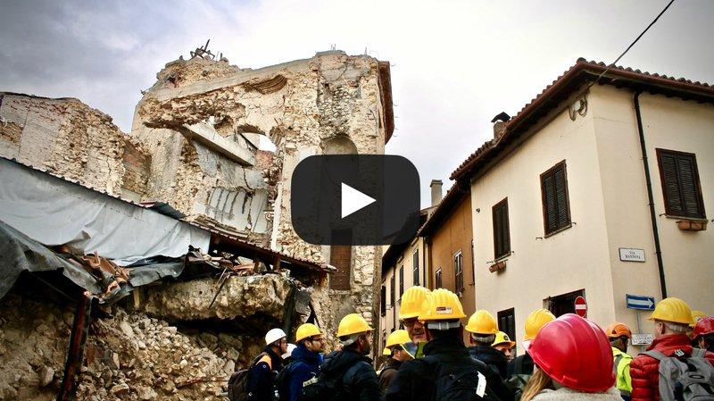 Risque sismique en Valais: le canton en mission en Italie pour apprendre du séisme dévastateur de 2016