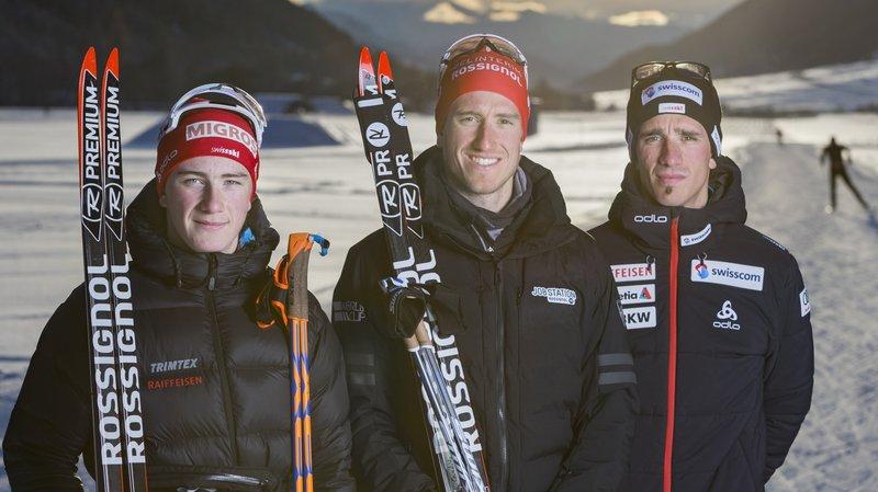 Ski de fond: Candide Pralong pose un ski aux Jeux de Pyeongchang