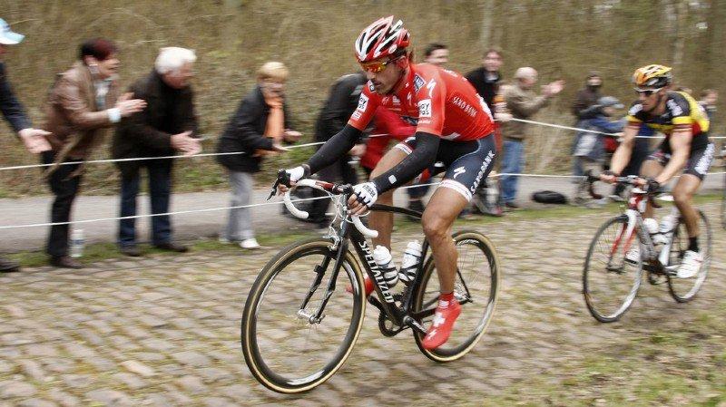 Dopage mécanique: l'UCI envisage une enquête sur des soupçons contre le Bernois Cancellara