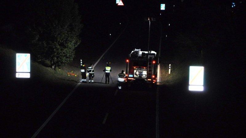 Accident de la route: elle perd la vie en traversant une bretelle d'autoroute au Tessin