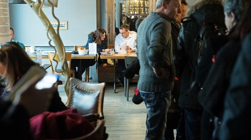 Monthey: un café pour trouver un emploi