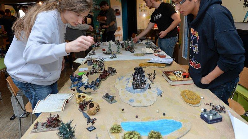 Divers types de jeux et un escape game attendent les visiteurs.