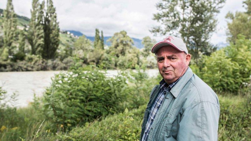 Avec Blaise Melly, Albert Pitteloud (photo) estime que l'Etat du Valais pourrait perdre des millions dans le dossier de l'inondation provoquée par le Rhône en 2012.