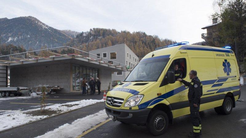 Une ambulance et un héliport pour la Maison de la santé du Grand Entremont à Sembrancher