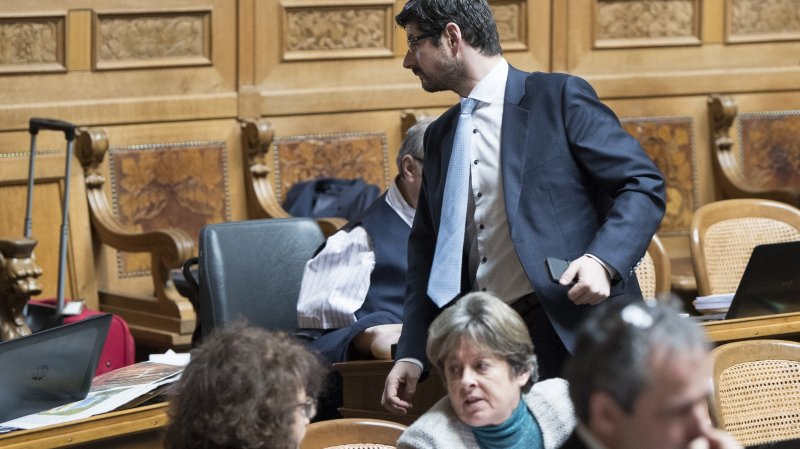 Yannick Buttet a été suspendu de la vice-présidence du PDC suisse.