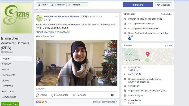 La secrétaire générale du Conseil central islamique suisse a suivi les débats du Grand Conseil valaisan