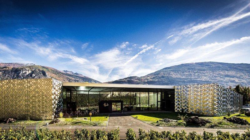 Les Celliers de  Sion inaugurent le premier oenoparc de Suisse