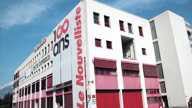 Le Centre d'Impression des Ronquoz accueillera 8 à 10 chaires de l'EPFL d'ici 2020