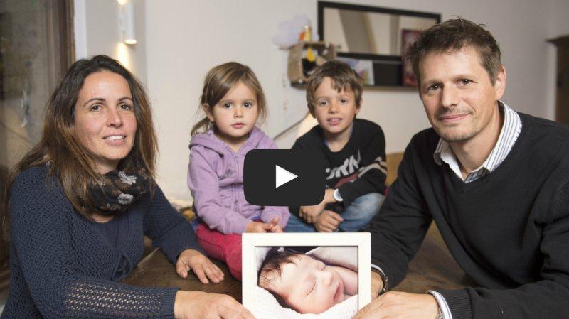 Vivre une grossesse après le deuil d'un enfant: un couple de Valaisans raconte