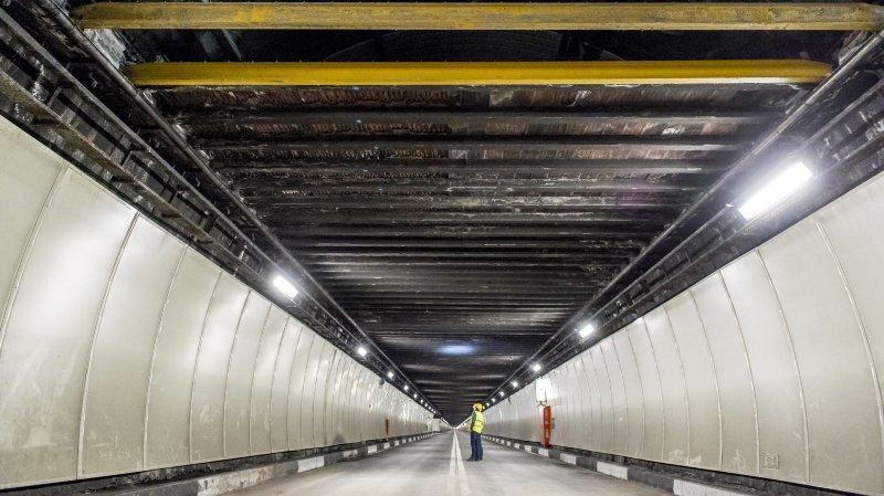 Tunnel du Grand-Saint-Bernard: les travaux ont débuté ce mardi matin