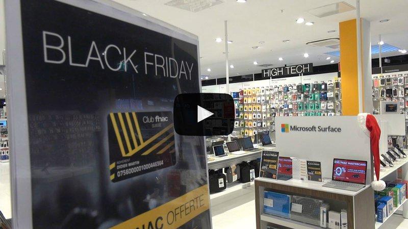Le Black Friday aussi fou en Valais qu'aux USA? Direction la zone commerciale de Conthey