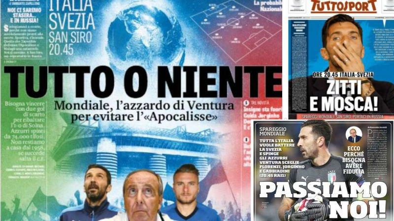 Mondial 2018: en Valais aussi, la communauté italienne retient son souffle avant le match retour Italie-Suède