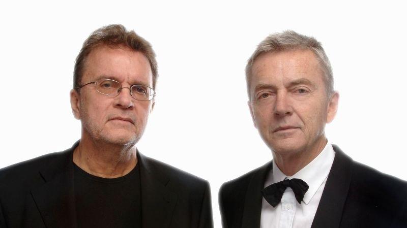 Jean-Charles Simon et Patrick Lapp, une complicité totale et une vision commune quant à la façon d'amener la musique classique vers le public.