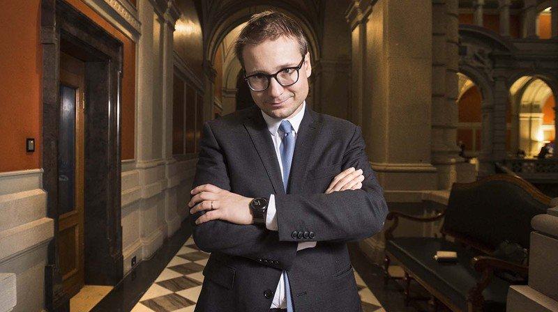 Philippe Nantermod renonce au groupe de réflexion du Groupe Mutuel