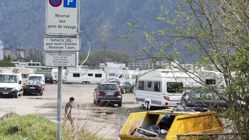 Dès le 1er janvier 2018, la gestion de la place d'accueil des gens du voyage de Martigny n'incombera plus à la commune.