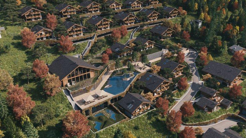 """Crans-Montana: recours contre le projet """"Lodge de la Reine"""" à Aminona"""