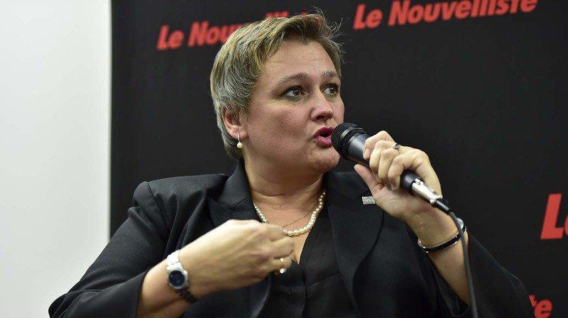 Sion: Marylène Volpi Fournier reprendra l'économie, l'innovation et le tourisme