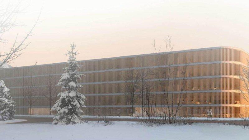 Oui quasi unanime aux 27 millions de cautionnement pour le parking couvert de l'Hôpital de Sion