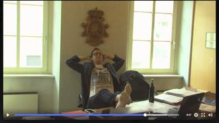 Le président de la commune de Liddes parodié dans une vidéo humoristique